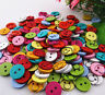 DIY  Mixed Color Resin Joker Sewing Buttons Scrapbooking Decorations 14mm