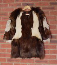 Lanvin Fur Jacket Coat Size 36 UK 8-10 Goat Hair