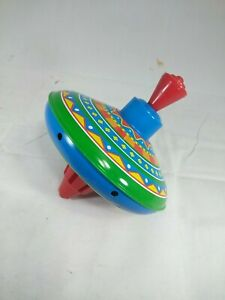 Schylling Tin Spinning Top 5 Inch