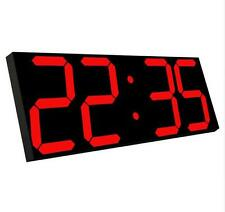 Large  Led Digital Wall Clock US Delivery Alarm clocks Watch Countdown Timer
