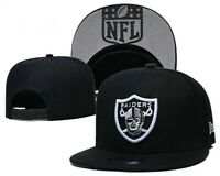 New Era 9FIFTY Adult NFL Raiders Oakland Las Vegas  Snapback Hat Cap Black 950