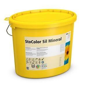 StoColor Sil Mineral 15 l weiss Profiqualität Wandfarbe Innensilikat