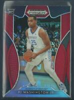 PJ Washington Jr RC 2019-20 Prizm Draft Picks PRIZMS RED Rookie Kentucky Hornets