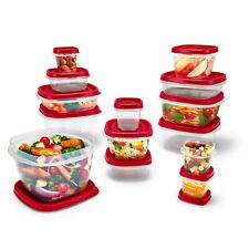 Rubbermaid Easy Find Vented Lids Food Storage Containers 26-Piece Set Bonus