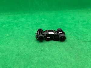 NOS ORIGINAL TYCO 440-X2, WIDE PAN CHASSIS, BLACK WHEELS, NEW OLD STOCK