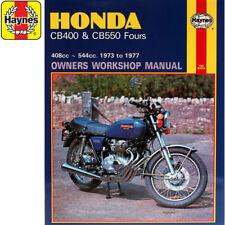 0262 Honda Cb400f Cb550f Fours 1973-1977 Haynes Workshop Manual