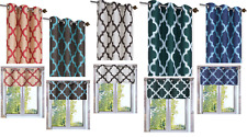 1 PIECE WINDOW CURTAIN LINED BLACKOUT GROMMET PANEL/VALANCE MOROCCAN TILE PRINT