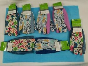 Womens Medium 0794106 Poly/Cotton Garden Gloves-Lot of 7