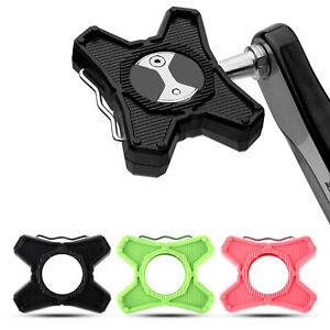 1 Pair Alloy Pedal Converters Platform Adapters MTB Road Bike Lock Pedal to Flat