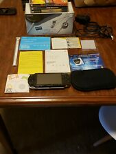 Sony PlayStation Portable Value Pack - Black (PSP-1001K) Limited Edition Package