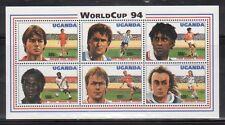 Uganda 1218 World Cup Soccer Mint NH