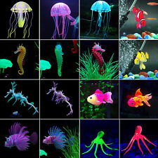 Artificial Jellyfish Octopus Goldfish Fish Tank Aquarium Decor Water Ornament