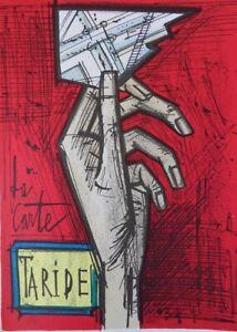 Buffet Bernard: La Card - Lithography Original, 3000ex Per Mourlot