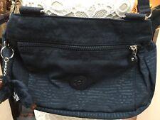 kipling True Blue Animal Embossed Orelie Cross Body Bag