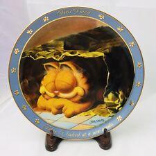 "Garfield 8"" Collector Plate New Condo Danbury Mint Dear Diary Series"