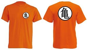 T-Shirt Maglia Maglietta GOKU DRAGON BALL Z ANIME CARTOON VEGETA SUPERSAYAN