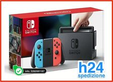 CONSOLE NINTENDO SWITCH RED BLUE BI COLOR NUOVA ROSSO BLU