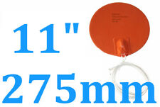 """11"""" 275mm Diameter 120V 600W w NTC100K Thermister Factory Sale Silicone Heater"""
