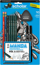 Prismacolor Scholar 10-Piece Beginner's Manga Drawing Set
