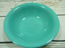 Trumpet Ware Melmac Trump Plastic Inc. Small Dessert Berry Bowl Turquoise