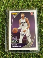 Tyrese Haliburton Panini 2020-21 NBA Sticker/ Cards Rookie Card #92 Kings RC
