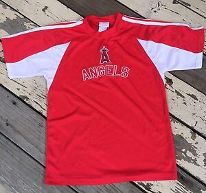 MLB Anaheim Angels Baseball Jersey Shirt • YOUTH size 18/XX-Large (XXL)