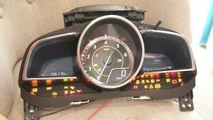 2013-2016 Mazda 3 SP25 Instrument Cluster HUD Display 6,000 RPM Model Genuine