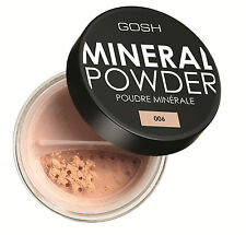 Gosh Mineral Powder for Smooth & Flawless Finish, Medium/full Coverage, 6 Shades