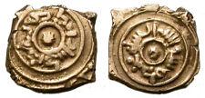 TAIFAS DE GRANADA. FRACCION DE DINAR. BADIS IBN HABBUS AL-MUZAFFAR (430-466H).