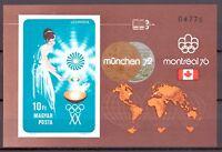 Ungarn MiNr. Block 96 B postfrisch MNH Olympia 1972 München (Oly1155