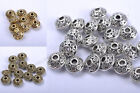 FREE SHIP 50Pcs Wholesale Tibetan Silver Little Bicone Spacer Beads 6MM NP784