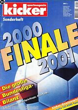 Magazin kicker Sonderheft - Bundesliga Finale Saison 2000/01,Bayern Poster