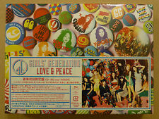 SNSD GIRLS GENERATION Japan 3rd Album LOVE&PEACE Blu-ray GOODS Deluxe Limited
