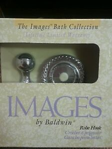Images by Baldwin 3565-260,chrome, mystic robe hook