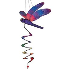 30� Purple Dragonfly Twister hanging Spinner garden décor – Itb 4650 *Free Ship*