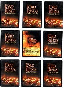 Lord of the Rings LOTR CCG TCG Fellowship of The Ring (Fotr) Rare cards 1/5