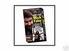 WWE Mick Foley Hard Knocks VHS Video SEALED Mankind