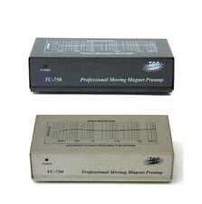 TCC TC-750 SILVER Phono Preamp with PREMIUM AC ADAPTOR