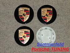 original Porsche Felgendeckel schwarz hochglanz / Porsche Wheel centre Caps