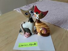 Rosina Wachtmeister Katzenpaar  Glorua und Alberto
