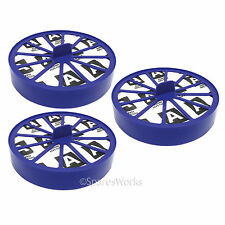 Post Motor Allergy Blue HEPA Filter for Dyson DC07 DC14 Vacuum Cleaner x 3 Spare