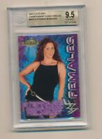 2001 Fleer WWF WWE Championship Clash Females Stephanie McMahon RC BGS 9.5