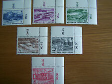 AUSTRIA 1962 ELECTRIC POWER, 6VALS, U/M,EXCELLENT.