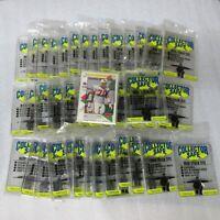 40 Count Lot Snap Tite Mini Stack Tite Trading Card Memorabilia Acrylic Holders