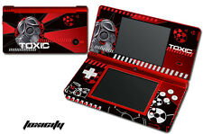 Skin Decal Wrap for Nintendo DSI Gaming Handheld Sticker TOXICITY RED