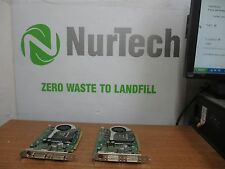 LOT OF 2 Dell RN034 Quadro Fx1700 PCI-E Video Card 512MB DDR2