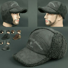 Ball Cap Ear Flap WRL GRAY Chullo Skull Beanie Russian Hat Warmer Outdoor