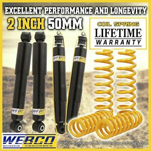 2 Inch Lift Kit Shock Absorbers King Coil Springs for Land rover Range Rover