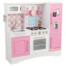 Kidkraft - cocina blanca y Rosa