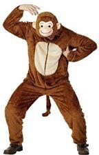 Smiffys Fun Shack - Costume da Scimmia Incl. Tuta con cappuccio adulto